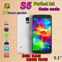 fingerprint 1:1 original s5 phone MTK6582 Octa core 2G ram 32G rom SV Phone Waterproof G900 PHONE I9600 phone Heart beat sensor