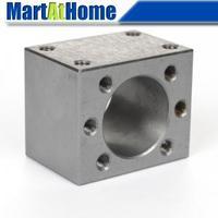 New CNC Ballscrew Nut Housing Bracket Holder Pure Steel For SFU2004 2005 2010 #SM182 @CF