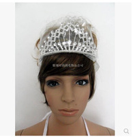 The new European queen mother rhinestone hair accessories bridal crown jewelry