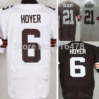 Free Shipping cheap American  Football Jersey,6# Josh Gordon 21# Justin Gilbert men elite jersey size 40-56