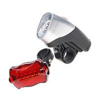 Complete Bike LED Kit  5-LED Front + 6-LED Rear (5xAA)