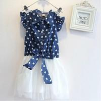 Vest baby children's clothing wholesale girls dress manufacturers selling tutu girls tulle dress