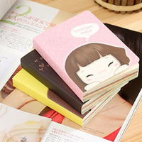 36PCS Korean Stationery Lovely Girl Memo Pad Biscuits Girl Notepad Creative Palm Diary Notebook