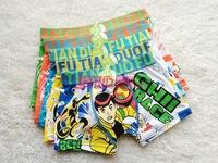 Free shipping 6pcs/lot baby boy cotton underwear kids cartoon panties football boy boys boxer briefs children fashion underpants