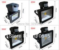 bulk sale Waterproof IP65 10W 20w 30w 50w 70w 100w high power RGB led floodlight with IR controller  for square