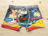 Free shipping 6pcs/lot baby boy cotton underwear kids cartoon panties thomas boys boxer briefs children fashion underpants