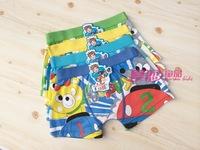 Free shipping 6pcs/lot baby boy cotton underwear kids cartoon panties mice bear boys boxer briefs children fashion underpants
