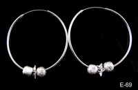 Lot 3pairs Silver Plating Earring Earbob