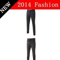 2014 fashion designer jeans men brand casual black slim fit straight pants man plus size high quality cotton spring 920LP