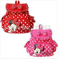 2015 Korean version of the nursery school bags / Mickey Minnie shoulder bag / backpack for girls