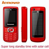 Hot solar cell Unlocked Mobile Phone lenovo phone Dual Sim Big Speaker items Russian language free shipping 1800mAh battery