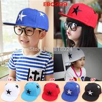(5 Colors) 2014 Super Big Stars Cap Hat Kids Baseball Snapcap Snapback Caps Children Hiphop Sport Sun Hats Free Shipping