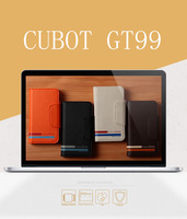 2014 new Horizontal Leather Case Cover for CUBOT GT99 MTK6589 Quad Core 4.5 inch  Cell phone With Card holder,Free Shipping