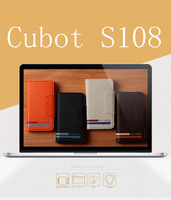 2014 new Horizontal Leather Case Cover for Cubot S108 3G Smartphone 4.5 inch Cell phone With Card holder,Free Shipping