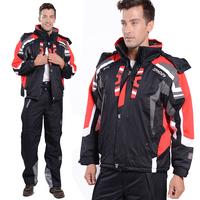 Free Shipping snowboard 2014 brand outdoor camping sportwear ski jacket men spider ski suit windproof waterproof skiing clothing