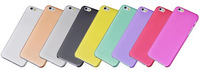 0.3mm Ultra Thin Slim Matte Frosted Transparent Clear Soft Cover Case Skin for iPhone 6