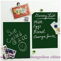 Free shipping!  high quality environmental education green chalkboard stickers, green wall stickers, send chalk 45 * 200CM