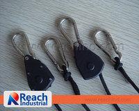 "1/8"" Rope Ratchet Hanger Hydroponics Reflector-2pcs/pair  free shipping 5PAIRS=10PCS=3.9/PCS"