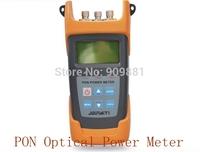 JW3213 PON Optical Power Meter 1260nm~1360nm / -40dBm~+10dBm FTTx PON Fiber Optical Power Meter digital optick fiber tester