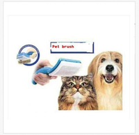 Pet Brush Dog Cat Self Cleaning Grooming Brush Pet Trimmer Attachment PetZoom ID:2014091801