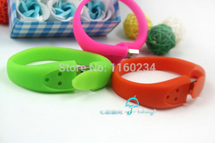 100% real capacity Silicone Bracelet Wrist Band 32GB 16GB 8GB 4GB USB 2.0 USB Flash Drive Pen Drive Stick U Disk Pen drives Free(China (Mainland))