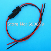 2pin Connector Cable, Non-Waterproof Adapter/Cable, Male and Female, 200pair/lot