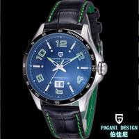 Luxury Brand Pagani Design Men Sports Watch Military Watch for Men Japan Quartz Classic Design 3ATM Waterproof Leather Watch
