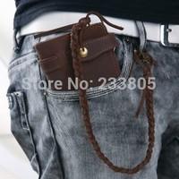 NEW Hot sell Vintage men wallets high quality genuine leather wallet purses and handbags bolsas femininas