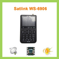 "5pcs Original Satlink WS-6906 3.5"" DVB-S FTA digital satellite meter finder ws 6906 satlink finder ws6906"