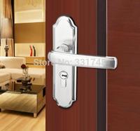 304 stainless steel door lock indoor bedroom room solid power door handle lock The brass lock core XP8M9