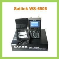 "Newest Satlink WS-6906 DVB-S 3.5""  FTA Digital Satellite Meter Finder Hd"