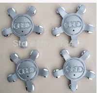 4pcs. WHEEL CENTER CAP for  AUDI A4 S4 S5 A5 A6 S6 S8 Q5 Q7 TT hub caps SET