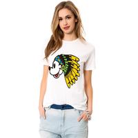 2014 new t shirt  fashion cartoon mouse printed cotton t shirt women tops GT-157