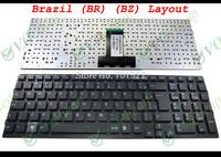New Laptop keyboard for Sony VPC-EB without Frame Black Brazil (BR) version - MP-09L28PA-886