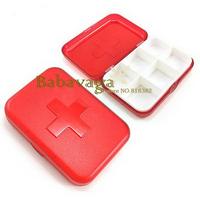 Portable Organizer Pill Box Health Pill Storage Case Medicine Drug Container