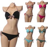 NEW Stylish Leopard Bathing Suit Women's Swimsuit Ladies Swimwear Hot Bikinis set Sexy Swimwears Leopard Swimsuit