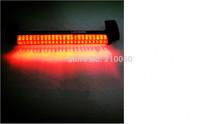 Free shipping 1pcs 12Vnew 24 LED Red Third 3rd Car Auto Rear Stop Brake Tail Light Lamp Pad parking car styling car light source