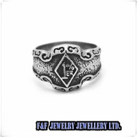 "New Men's Letter ""1%er"" 316L Silver Stainless Steel Ring US Size:8-13#,Free shipping,R#82"
