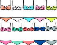 2014 TOP NEW Fashion Bikinis Bathing Suit Women Swimsuit Neoprene Bikini Sexy Swimwears Triangle Bikini Underwear Lady Swimwear