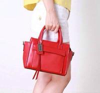Women Genuine Leather Handbags Low-key Luxury High Quality First Layer Cowhide Bus Messenger Bag Big Shot Bolsos Bolsas 4 Colors