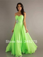 In Stock Sweetheart Court Train Apple Green Party Dresses New Size 6-8-10-12-14-16