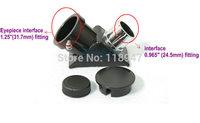 "Hybrid Telescope Diagonal 90 Degree Go from 0.965"" to 1.25"" eyepiece - Brand New!"