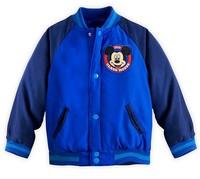 Retail New Varsity Jacket Boy Long Sleeve Coat Kids/Toddler Cartoon Clothing Children Outerwear  Autumn Winter Fit 3-10 age
