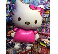1pcs oversized aluminum helium balloon wholesale party supplies children's toys KT Cat New cute hello kitty 116CM / 80CM