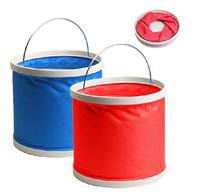 360 Golbal 11L Folding bucket car wash car bucket outdoor portable fishing bucket retractable car wash supplies