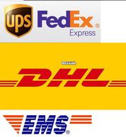 DHL EMS Fedex UPS TNT HongKong Post/Singapore Post/DHL Global Mail/Deutsche Post Shipping Fee