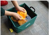 360 Golbal Free Shipping Portable 15L Outdoor Folding Washbasin Lightweight Camping Basin Travel kits