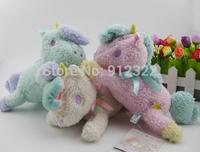 Set of 3, Sanrio Little Twin Stars Unicorn Charm Animal Doll Stuffed Plush New