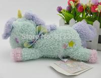 Sanrio Little Twin Stars Blue Unicorn Charm Animal Doll Stuffed Plush New