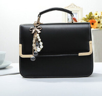2014 new cover leisure fashion women summer handbags cell phone pocket interior zipper pocket girls shoulder bags